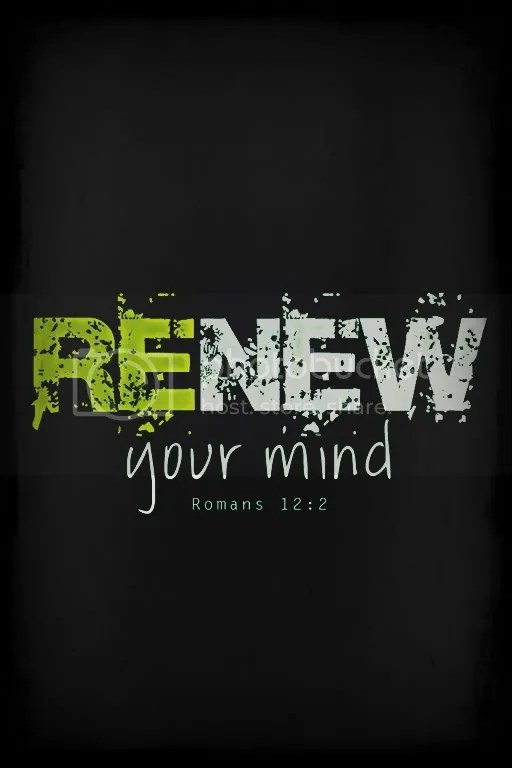 renew your mind photo: Renew your mind to start a bless week :) 8094F518.jpg