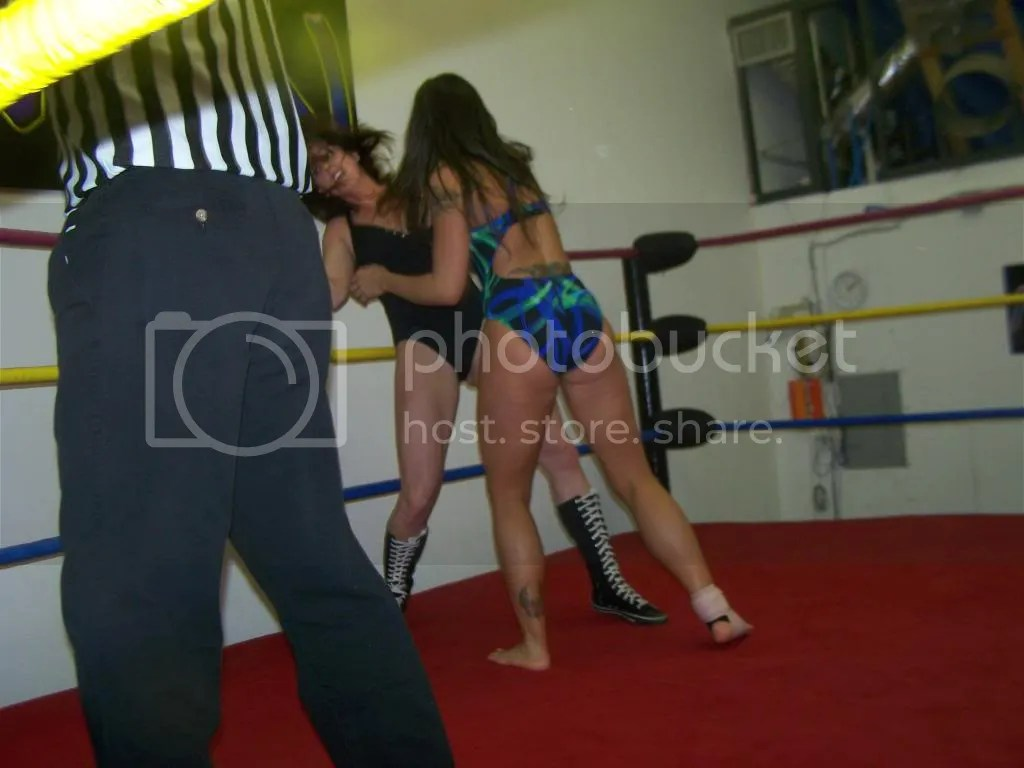 Nikki St. John strikes Christie Ricci wtih a hard right hand photo 105_2637.jpg