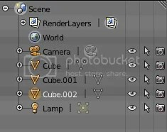 selection in Blender