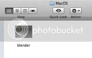 Blender executable