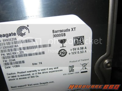 Seagate,3TB,SATA 3,SATA 6Gb/s,storage,barracuda xt, hard drive