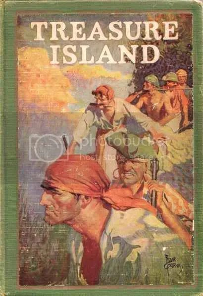Image result for treasure island book cover