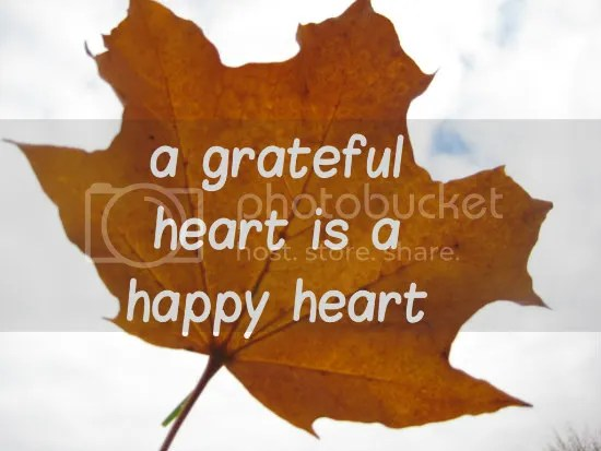 grateful heart happy heart