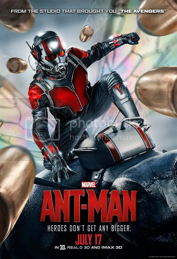 Paul Rudd features in a brand new poster for Marvel's Ant Man.
