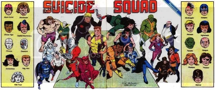 Suicide Squad is directed by David Ayer and stars Will Smith, Margot Robbie, and Jared Leto.