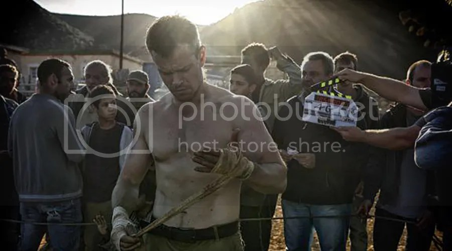 A look at Matt Damon in the first picture from the new Jason Bourne sequel.