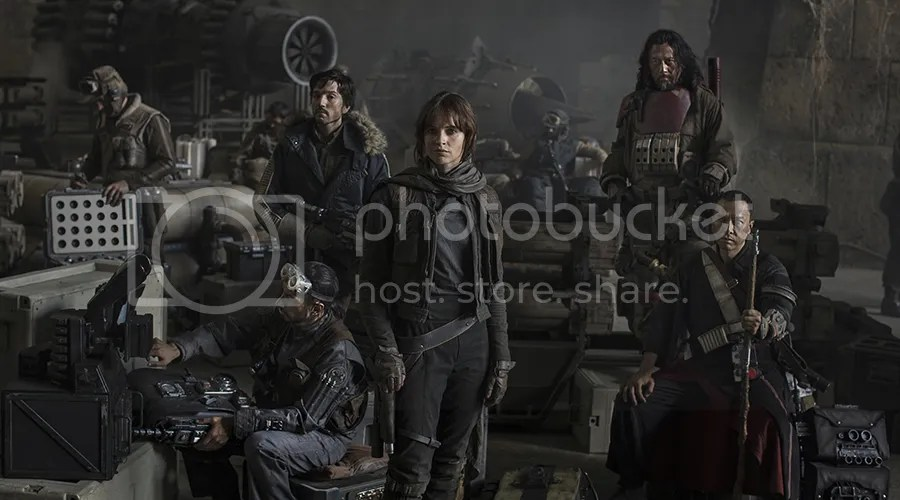 Felicity Jones stars in Star Wars: Rogue One.