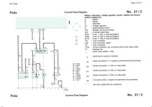 6N2 AUD engine non statrt, no crank Wiring diagrams