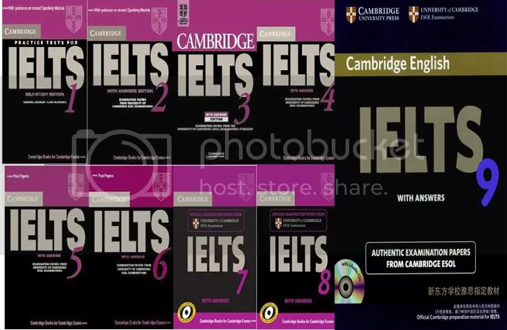Hixamstudies: Full Cambridge Ielts Tests from 1 to 9 (CDs + Ebooks)