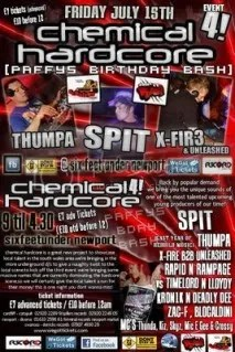 Thumpa - Live @ Chemical Hardcore, Paffy's Birthday Bash