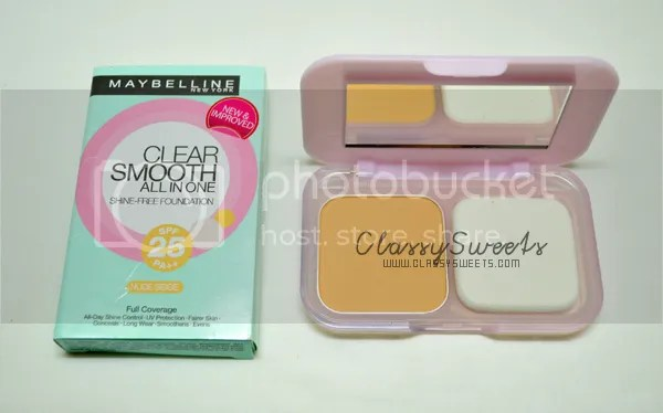 Unboxing October 2013 BDJ Box: Maybelline Clear Smooth All In One Shine-Free Foundation