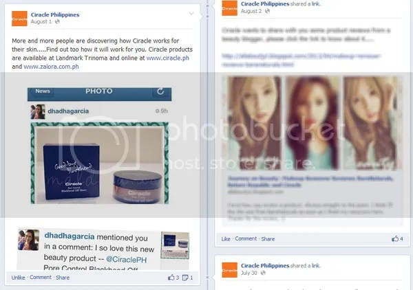 Press: Featured at Ciracle Philippines   Facebook