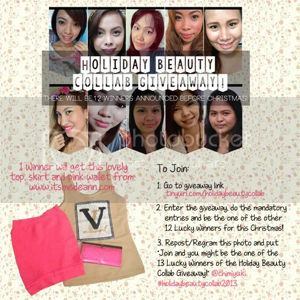 Holiday Beauty Collab Giveaway
