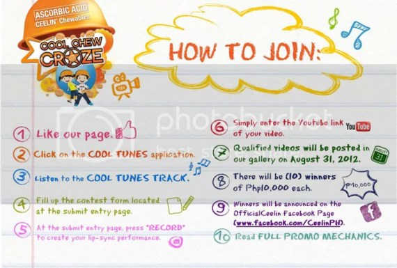 Get Into The Ceelin Cool Chew Craze And Win P10,000!