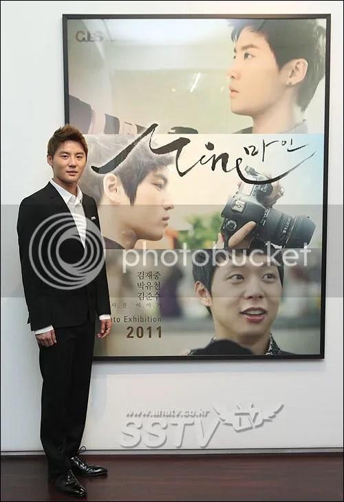 "[PICS] JYJ Photo Exhibition ""MINE"" compilations - Junsu's cut! ^_^ last pic is...LOL YooSu~~ ;D"