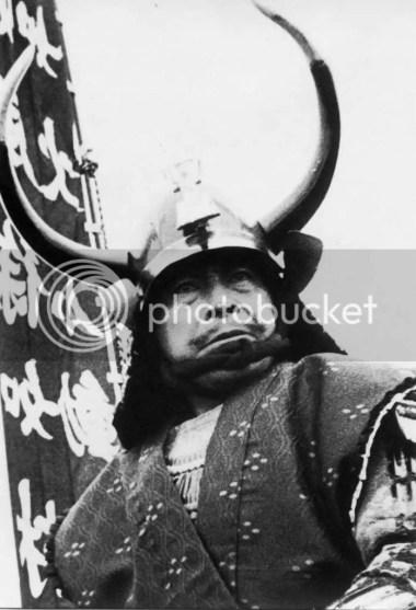 三船敏郎氏、映画撮影で