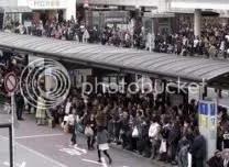 A földreengés és tsunami hatása a vasútra