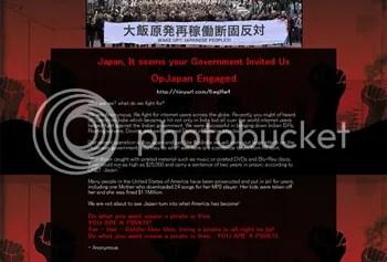 Az Anonymus hackerei belezavarodtak a japán nyelvbe