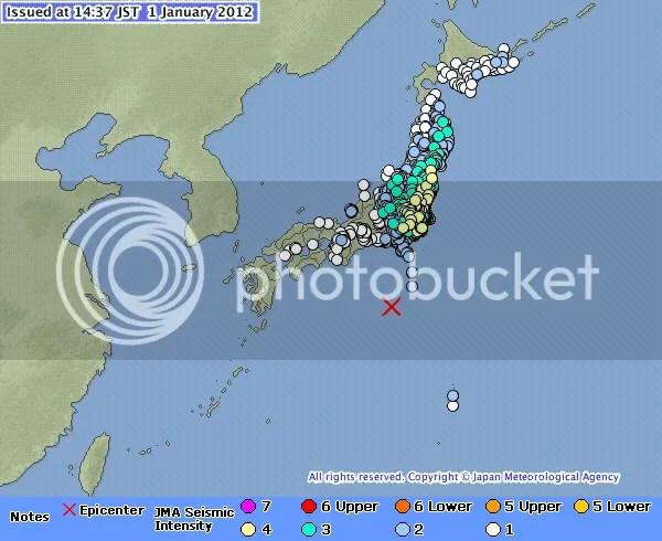 Földrengéses Új Év