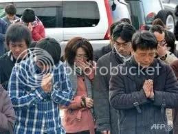Japán csendbe borult