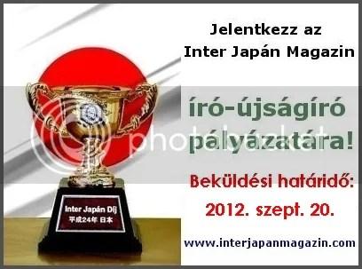 Inter Japán díj pályázat