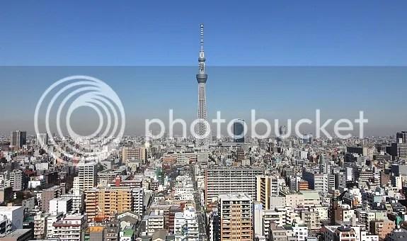 Megnyílt a Tokyo Skytree