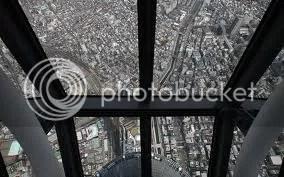 Kilátás a Tokyo Sky Tree-ből
