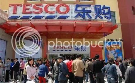 Bezár a japán Tesco