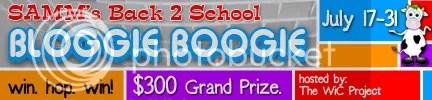 Back 2 School Bloggie Boogie