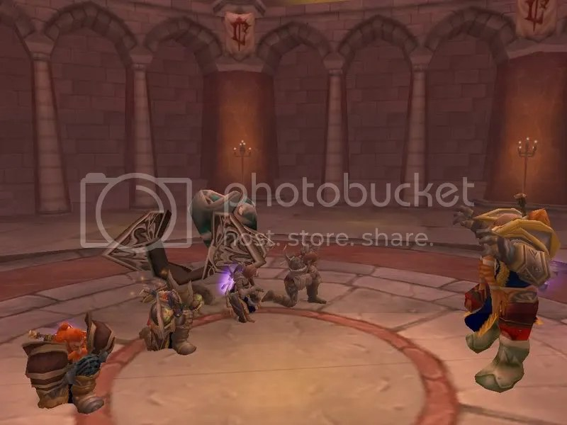 Balnazzar downed by a group of Warriors
