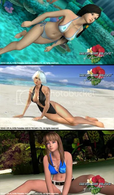 DEAD OR ALIVE Paradise Exclusive Walllpapers
