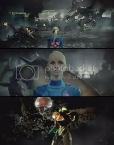 Metroid: Other M - Live TV Comemrcial Action