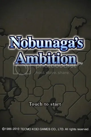 Nobunaga's Ambition - iPhone, iPod Touch, iPad