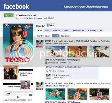 TECMO Facebook