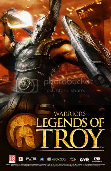 Warriors: Legends of Troy @ Memorabilia