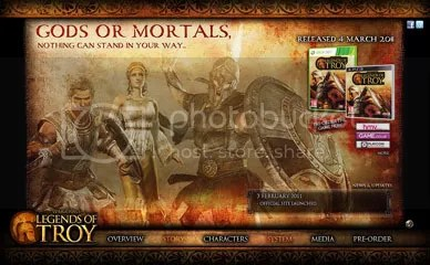 Warriors: Legends of Troy / Official Site / English Site / Troy Musou