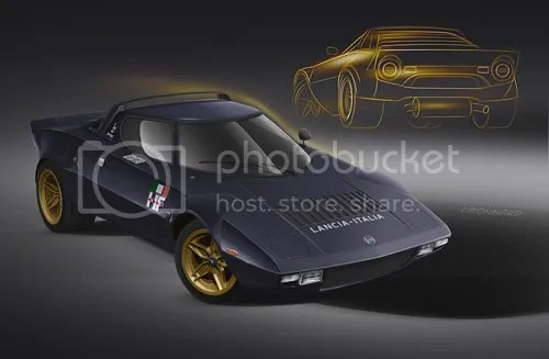 Lancia Stratos Project
