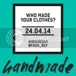 Fashion Revolution Day Handmade