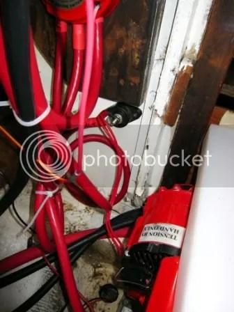 Rerouting the alternator wiring