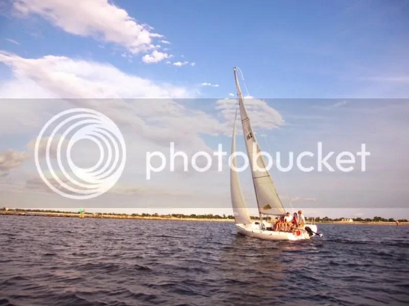 Sail NOLA class out sailing