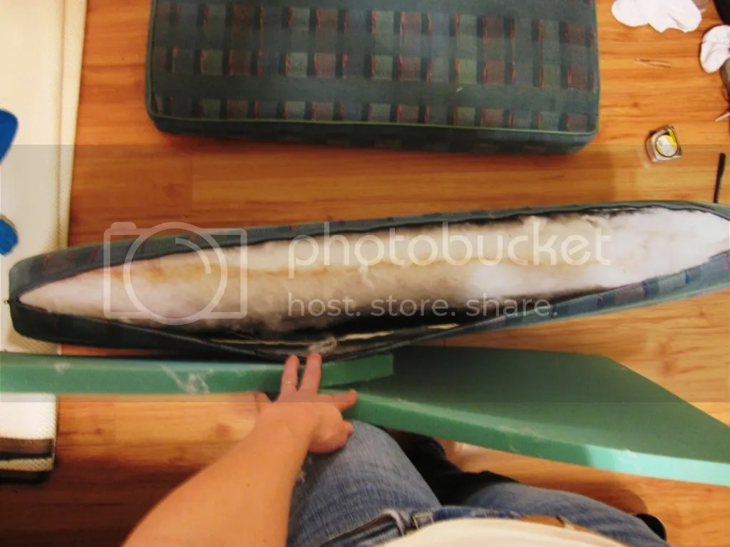 Polyurethane Foam boat cushions 1