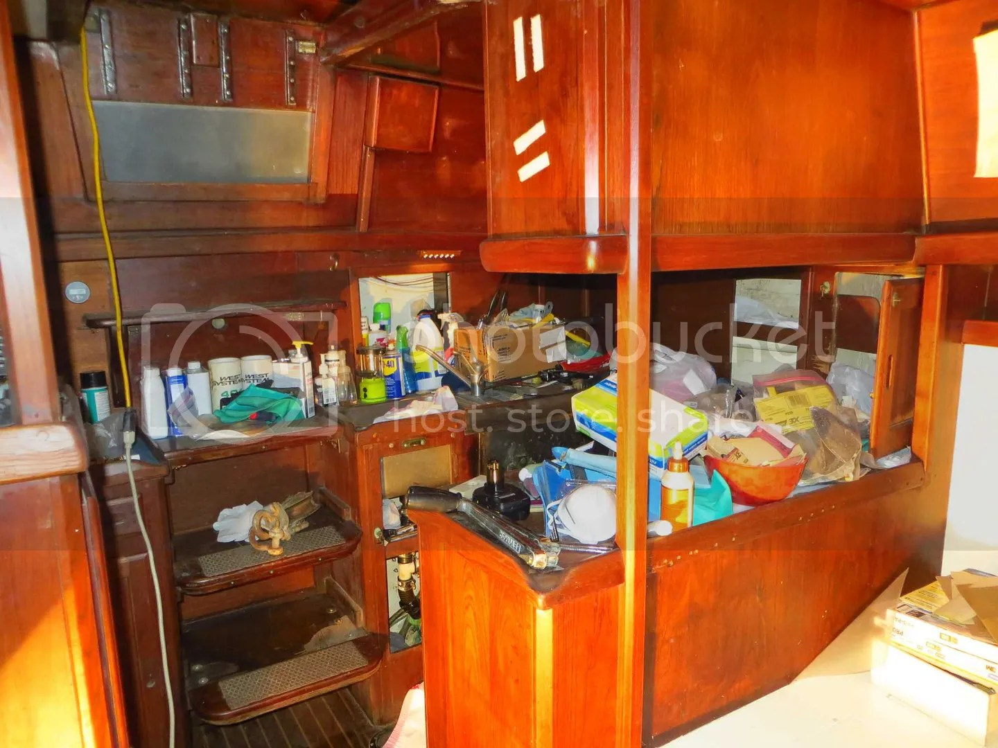 Mess in the galley