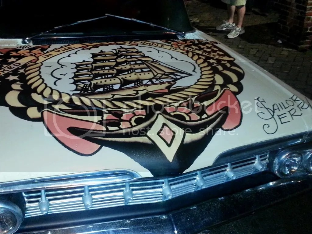 Sailor Jerry car NOLA