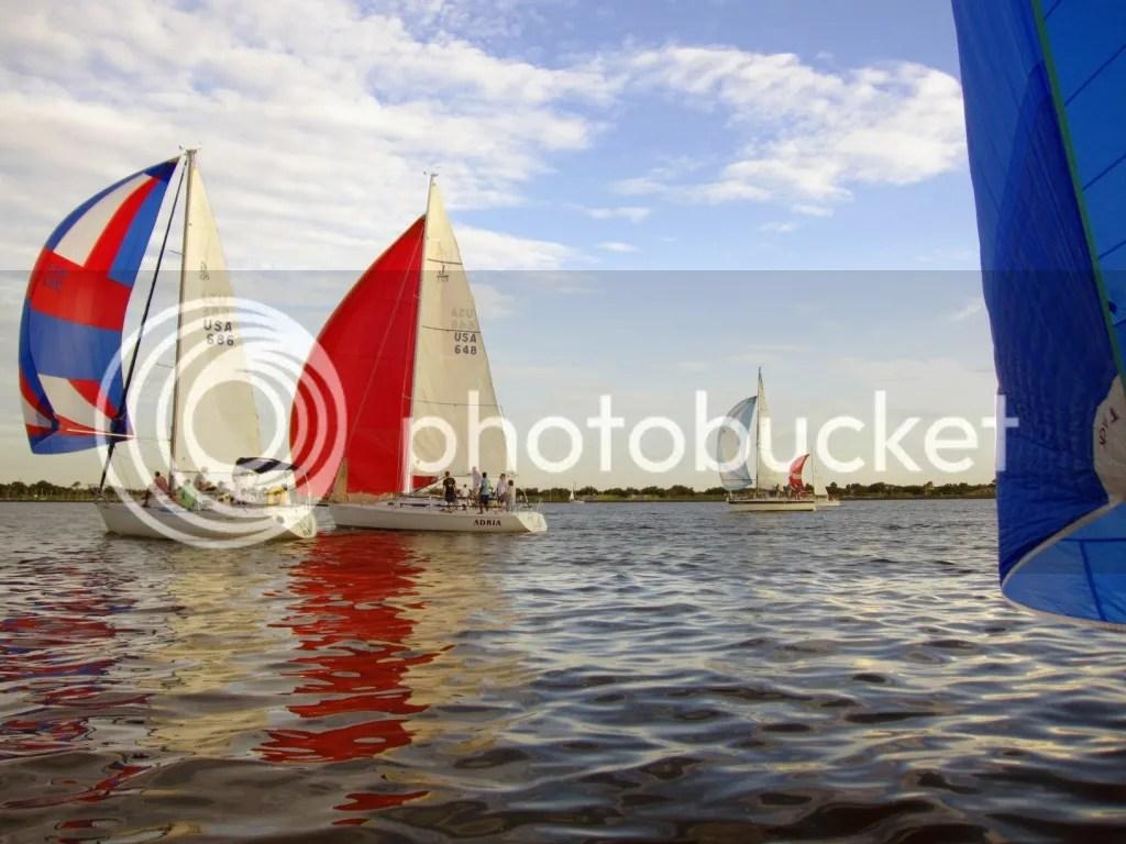 Spinnaker boats