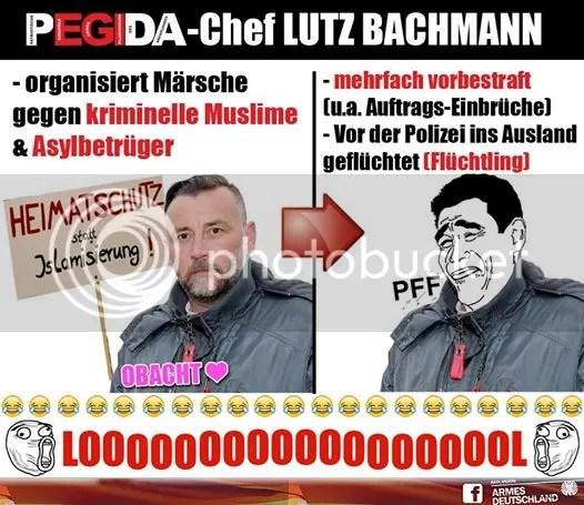 Pegida Lutz Bachmann
