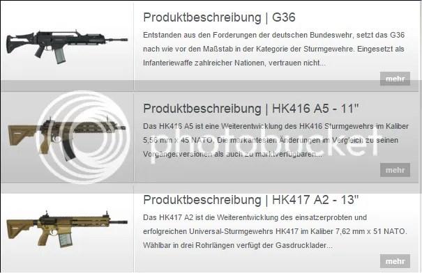Heckler und Koch Sturmgewehre