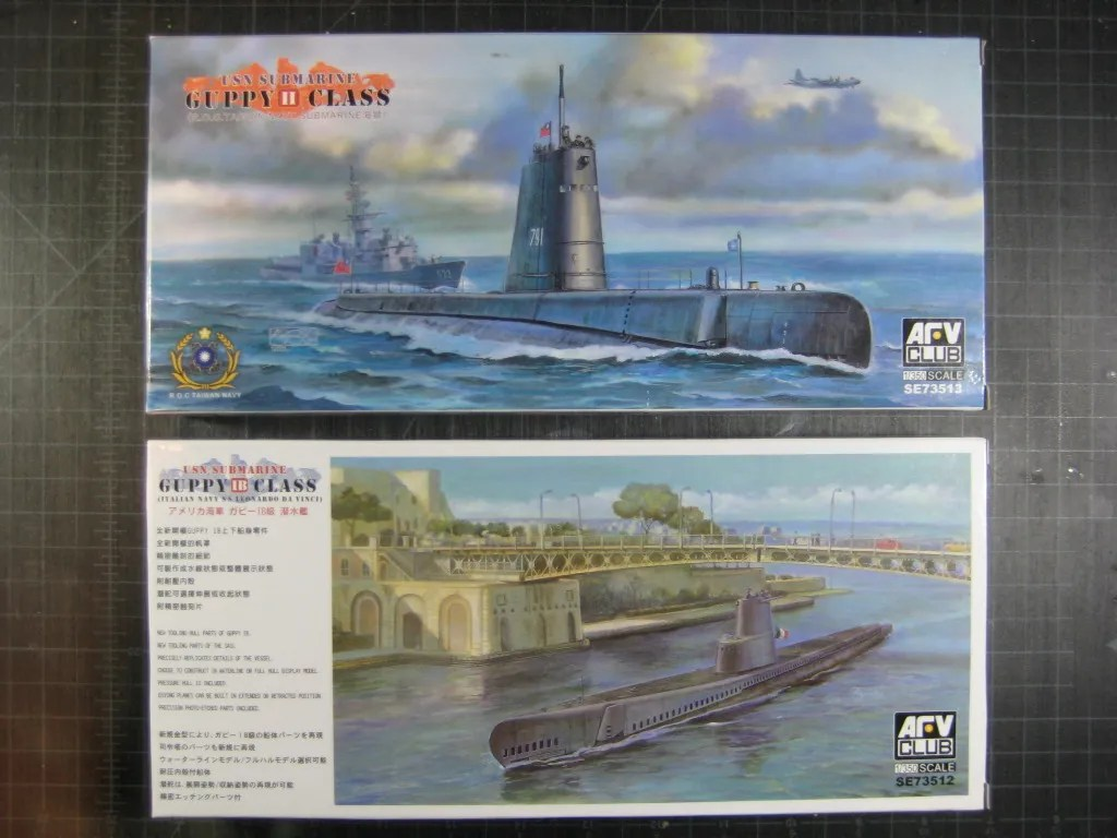 the ship model forum • view topic - afv guppy class kits