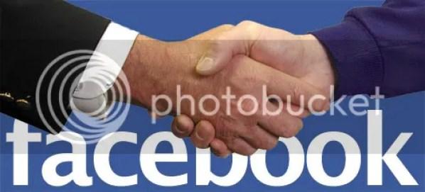 Facebook handshake