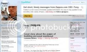 Zappos Twitter