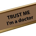 Funny Trust Me Im A Doctor Engraved Name Plate Plaque For Desk Ebay